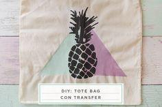 diy: tote bag con transfer