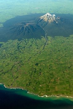 Mt Taranaki, North island, New Zealand