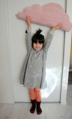 Cute little rain cloud Halloween costume for little ones