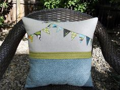 Just Another Hang Up: Bunting Pillow . . .
