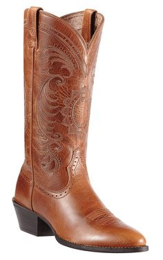 Ariat® Ladies Magnolia Vintage Caramel Heritage R-Toe Traditional Toe Western Boots  WANT!!!!!
