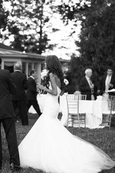 Romona Keveza drop waist gown, perfection.
