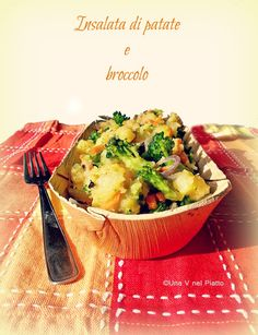 Insalata di patate e broccolo on http://www.unavnelpiatto.it