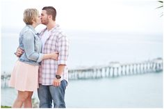 Desiree John | Orange County Engagement Photographer | Casa Romantica  | www.benstenphotography.com  San Clemente, CA San Clemente Pier
