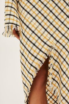 Gingham Spiral Skirt by Boutique - Topshop USA