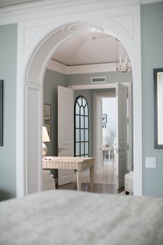 Popular Blue Paint Colors light blue gray paint colors | blue gray bedroom, grey bed and