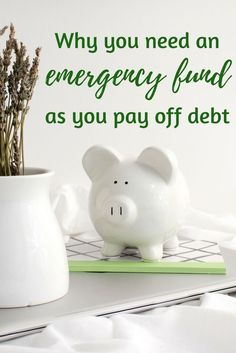 Even if you're paying off debt you need to keep some money in an emergency fund.  Learn how much you need and where to stash it!
