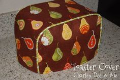 Toaster Cover Sewing Instructions