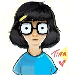 Tina ~ Bob's Burgers fan art