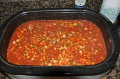 Home grown, home made Vegetable Soup, comfort food at its best. Homemade Vegetable Soups, Vegetable Soup Recipes, Oven Vegetables, Mixed Vegetables, Nesco Roaster, Roaster Oven Recipes, Electric Roaster, Recipe Ratings, Growing Tomatoes