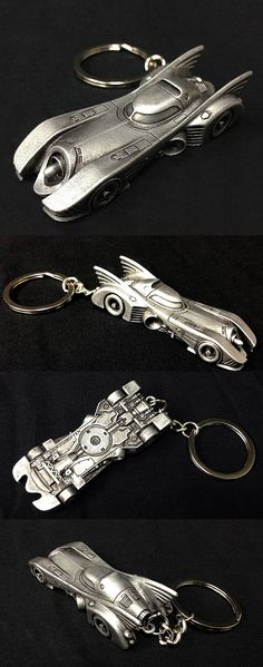 Steel-Alloy Batmobile Keychain  My favorite Batmobile of all time is from Tim Burton's 1989 film Batman. The folks at Think Geek used digital files from the Warner Bros.' archive to create an accurate two inch steel-alloy replica of the Anton Furst design. At only $10, this might be a fun gift to buy for yourself (or other people). Read More: http://geektyrant.com/news/steel-alloy-batmobile-keychain