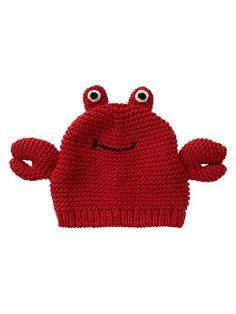Gap Lobster Sweater Hat - tomato sauce