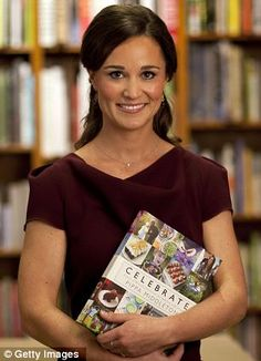 Bling of the highest order!! Pippa Middleton launches her new creative entertaining book 'Celebrate'