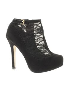 ASOS TWINKLE Shoe Boots with Lace Detail
