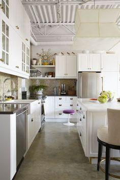 penthouse loft kitchen via Sabrina Linn