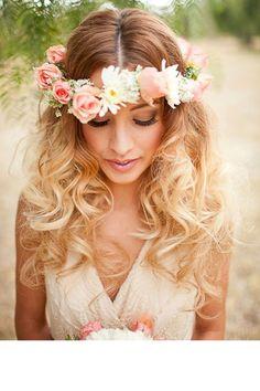 ondulations coiffure mariage