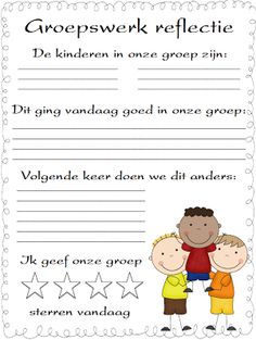 Group work reflection sheet and cooperative learning activity Classroom Behavior, Future Classroom, School Classroom, Classroom Ideas, Classroom Organization, Classroom Management, Albert Schweitzer, Formative Assessment, Cooperative Learning