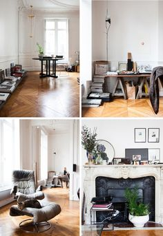 Visit : A Parisian Flat | FrenchByDesign