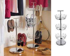 Shoe rack :: Flatmate – space-saving home office desk