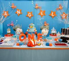 Southern Blue Celebrations: Under the Sea & Finding Nemo Party Ideas