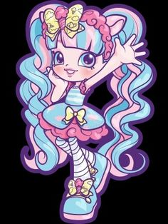 Shopkins And Shoppies, Cartoon Characters, Fictional Characters, Spring Crafts, Smurfs, Sweets, Candy, Sun, Gummi Candy