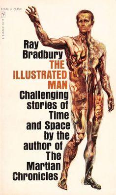 Marcianos Como No Cinema: Ray Bradbury — Cover Art