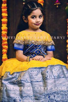 Indian Dresses For Kids, Kids Indian Wear, Little Girl Dresses, Girls Dresses, Kids Long Dress, Kids Dress Wear, Girls Frock Design, Baby Dress Design, Baby Frocks Designs