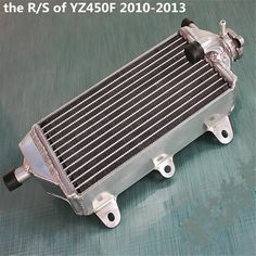 high performance R/S right side alloy aluminum radiator for Yamaha YZ450F YZF450 YZ 450 F 4-stroke 2010 2011 2012 2013 #Affiliate