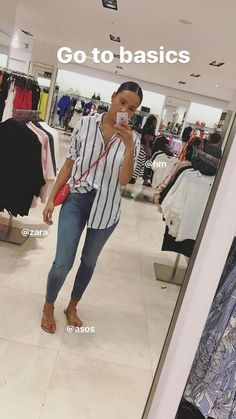 This outfit is perfect for the basic but sexy woman. This look is easily achievable and budget friendly from your local mall stores. Cool Summer Outfits, Dope Outfits, Classy Outfits, Stylish Outfits, Spring Outfits, Style Summer, Look Fashion, Girl Fashion, Fashion Outfits