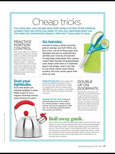 household tips and tricks