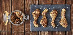 Cuisses de poulet aux arômes du sud