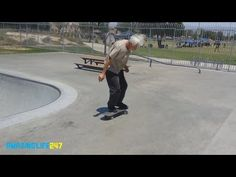 Amazing 55 Year Old Man is Still a Gnarly Skateboarder! - YouTube
