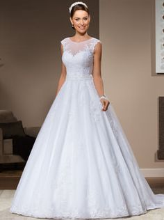 Vestido de noiva modelo: Princess