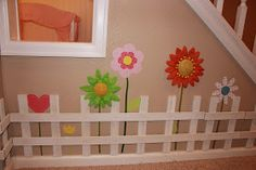 Achieving Creative Order: Basement Playroom-Playhouse Under the Stairs
