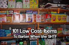 Disasters usually disrupt supply chains and leave stores bare. Bartering when the SHTF will naturally happen after things have settled. Are you prepared?