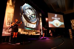 #Musicians perform at the Inauguration of the #Hublot World Boxing Council Pension Fund in Las Vegas