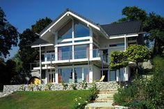 HUF Fertighaus mit Erker Traumhaus Gartenanlage