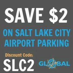 SLC Salt Lake City Airport Parking Coupon