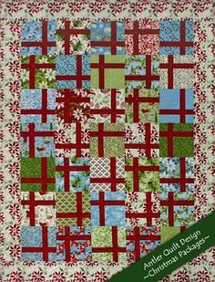 FREE Pattern - Christmas Packages Quilt by Doug Leko for Moda Bakeshop