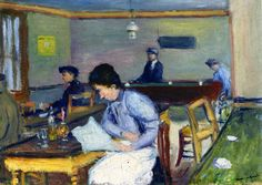 Village Cafe, 1900 - by Albert Marquet (1875 - 1947), French