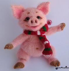 Amigurumi Toys, Softies, Plushies, Rubrics, Crochet Toys, Dinosaur Stuffed Animal, Teddy Bear, Kawaii, Christmas Ornaments