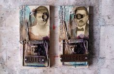 Janka's altered mouse traps http://scrapmagique.blogspot.sk/