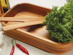Saladeira em Madeira 3 Peças - Tramontina 10184/100 com as melhores condições você encontra no Magazine Edmilson07. Confira!