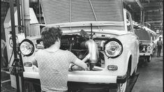 Factories, Antique Cars, Camping, Vehicles, Autos, Vintage Cars, Campsite, Car, Campers