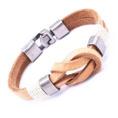 Aliexpress.com: Comprar Venta caliente Vintage Bowknot pulsera del abrigo hombres de la joyería del encanto del cuero genuino pulseras para los regalos de la mujer G7 9 de pulsera fiable proveedores en Chinatown Shop No. 3