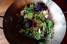 Stir-Fry Chicken with Braising Greens