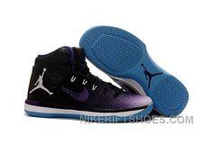 4a5ffb5b64b 2017 Air Jordan XXX1 Black Purple White Blue Basketball Shoes Top Deals  FyPAG