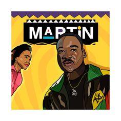 Shop Wassup Like Martin martin t-shirts designed by sammiedoesit as well as other martin merchandise at TeePublic. Black Love Art, Black Girl Art, Black Is Beautiful, Black Tv, Dope Cartoons, Dope Cartoon Art, Girl Cartoon, African American Art, African Art