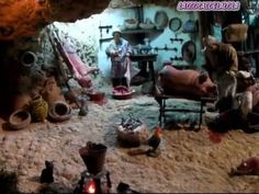 COCINA DE LEÑA PARA EL BELEN, PESEBRE, NACIMIENTO How to make ancient kitchen for nativity village