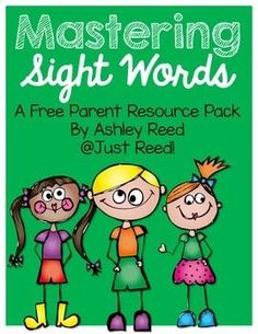 Great parent resource book for sight words! It's filled with fun hands-on ways to practice sight words! It includes a few reproducibles for parents to use as well as Sight Word lists for Pre-primer through third grade sight words! Teaching Sight Words, Sight Words List, Sight Word Practice, Sight Word Games, Sight Word Activities, Reading Activities, Teaching Reading, Teaching Ideas, Site Words